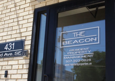 The Beacon Front Door Close-up