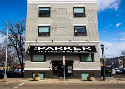 The Parker Front