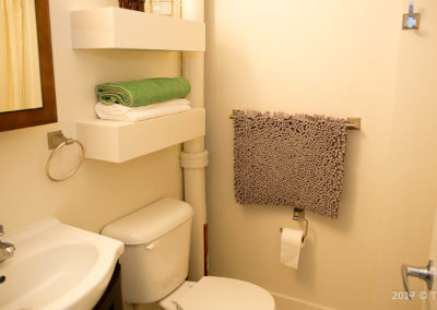 The Parker Third Floor Double Bed Bathroom